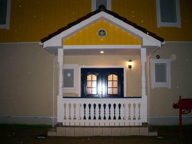 スウェーデンホーム 玄関